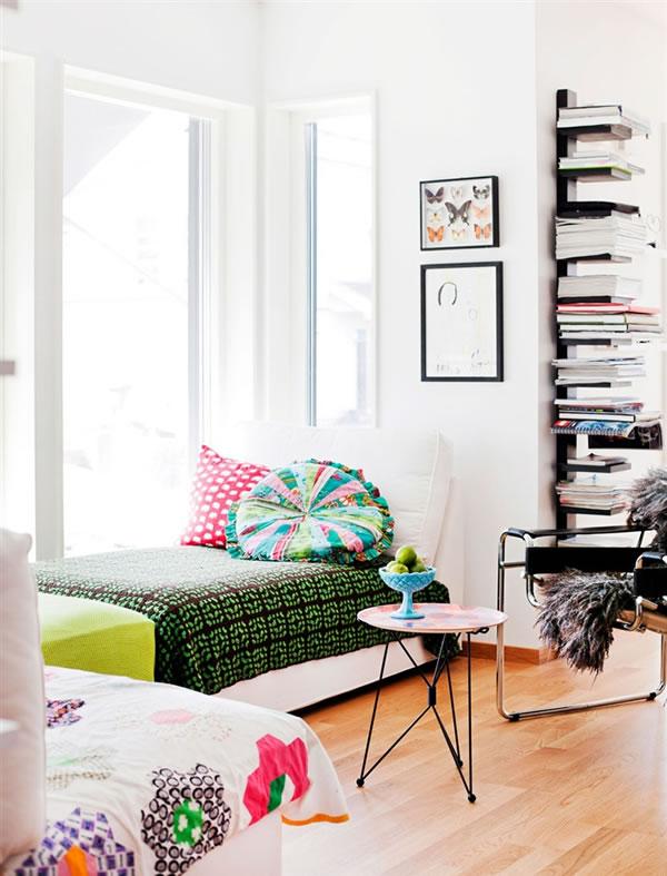 Estilo n rdico relleno de color - Casas estilo nordico ...