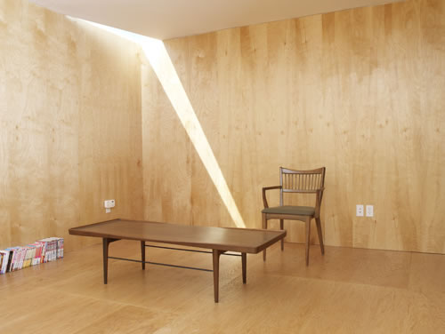 12 interiores con madera contrachapada