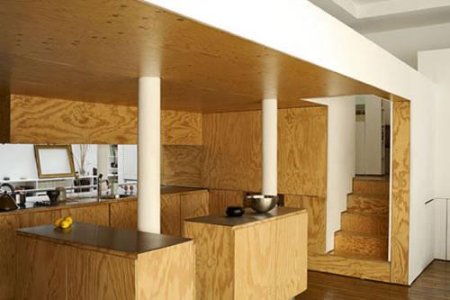Decoración con madera contrachapada 6