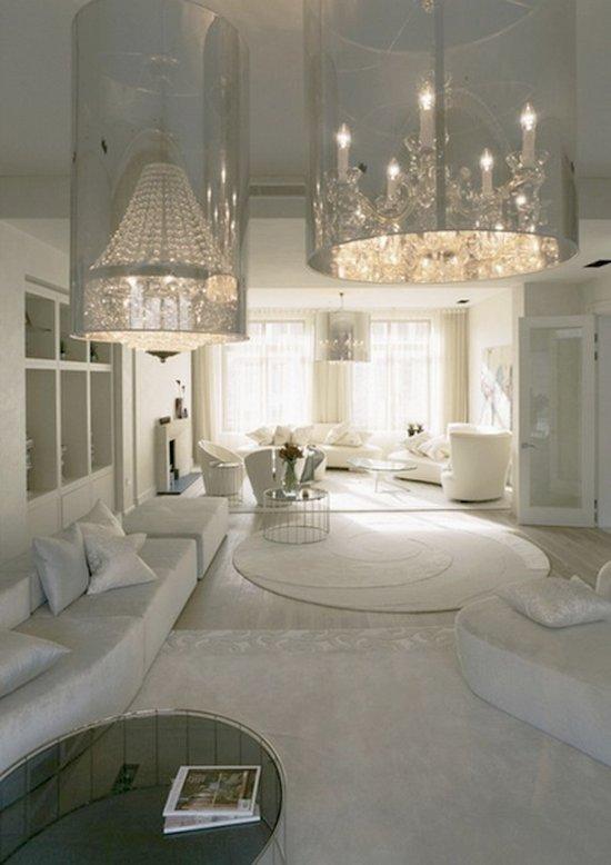 Interiores en color blanco 7