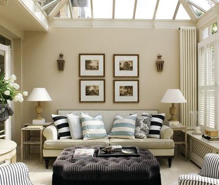 Simetría en la decoración del hogar 7