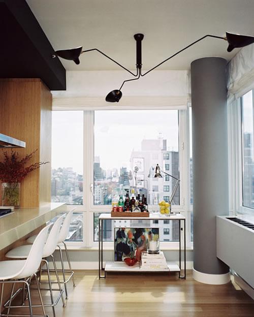 las l mparas de serge mouille. Black Bedroom Furniture Sets. Home Design Ideas
