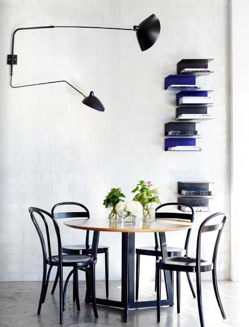 Lámpara de diseño de Serge Mouille 11