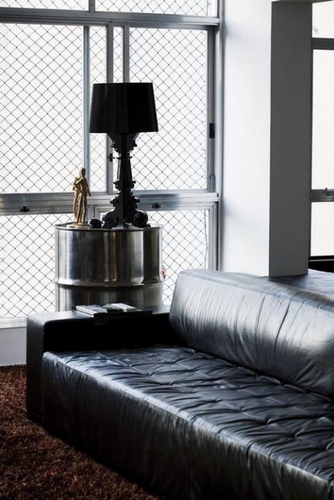 Decorar con mobiliario metálico 2