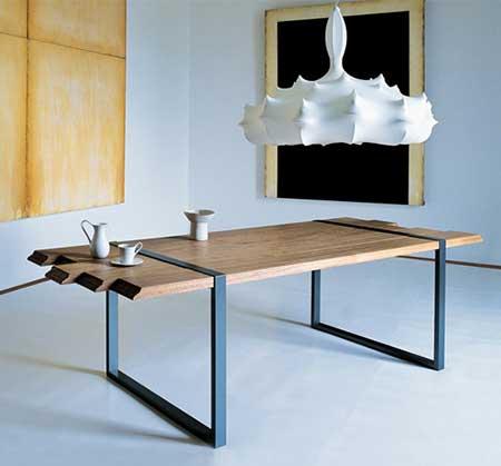 Modernas mesas de centro en madera - Mesas redondas modernas ...