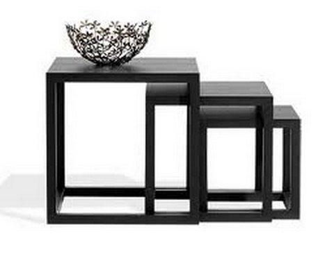 Modernas mesas de centro en madera - Mesa centro madera y cristal ...