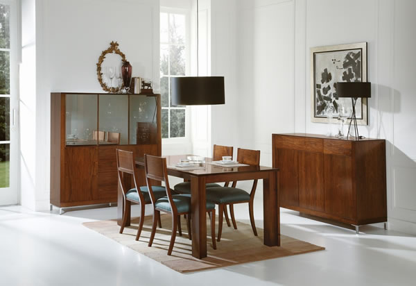 Decorar con muebles que nunca pasan de moda - Aparadores modernos para comedor ...