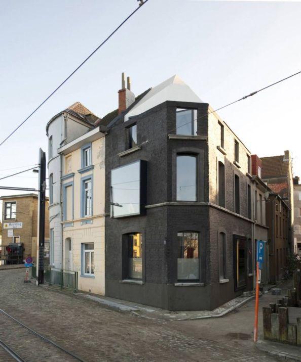 Renovaci n de una casa en gante for Renovacion de casas viejas