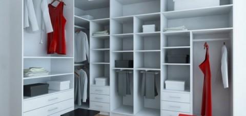 Roperos modernos para casas con espacio - Ordenar armarios de ropa ...