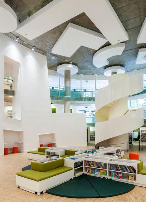 Moderna biblioteca londinense 1