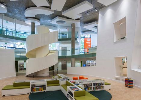 Moderna biblioteca londinense 7