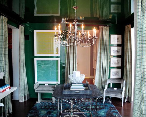 Decorar con el verde esmeralda 2