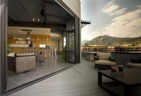 moderno loft junto a las montañas1