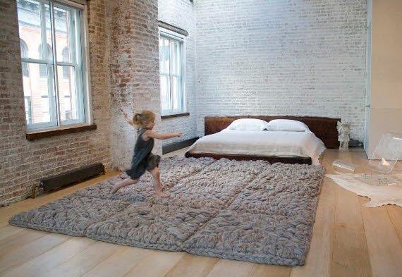Decora con alfombras de trapillo - Alfombras ganchillo trapillo ...