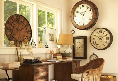 A ade relojes de pared a la decoraci n - Relojes para decorar paredes ...
