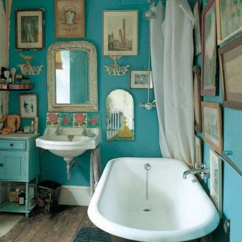 Ideas para decorar con espejos vintage