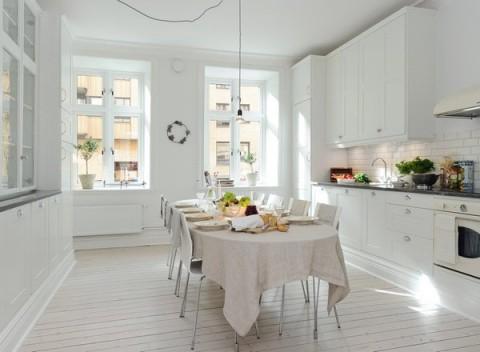 Cocinas de estilo nórdico 01