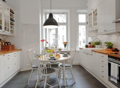 Cocinas de estilo nórdico 010
