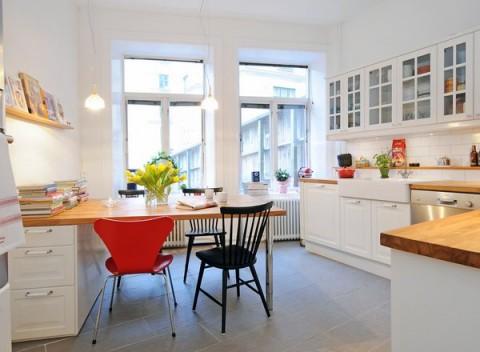 Cocinas de estilo nórdico 02