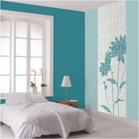 Diez dormitorios en azul for Colores de pared para habitacion