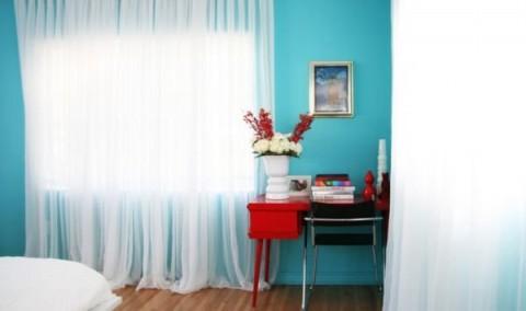Habitaciones en color azul 4