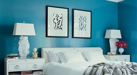 Habitaciones en color azul 5