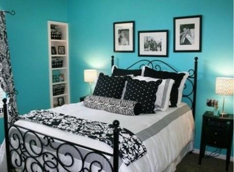 Habitaciones en color azul 6