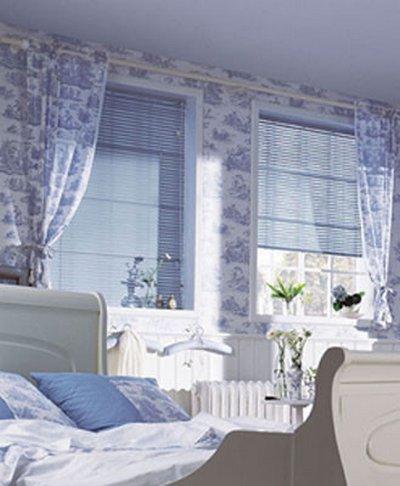 Habitaciones en color azul 8