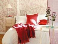 imagen 12 dormitorios decorados con papel pintado