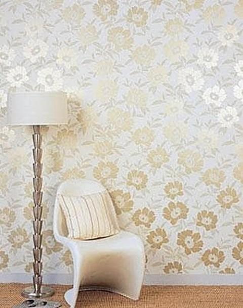 Habitaciones con papel pintado - Papel pared dormitorio ...