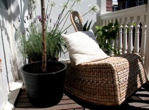 Hamacas y balancines de interior for Muebles de terraza rattan