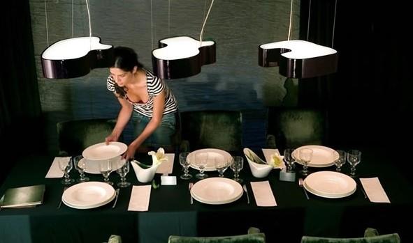 L mparas de techo - Lamparas mesa salon ...