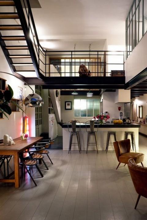 Loft de estilo industrial 2