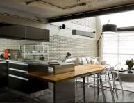 imagen Un loft moderno y funcional con elementos metálicos