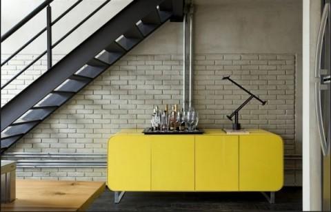 Loft moderno con elementos metálicos 8
