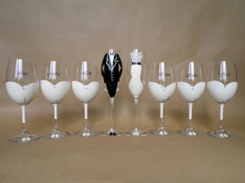 Otros usos para las copas de cristal - Como decorar copas de cristal ...