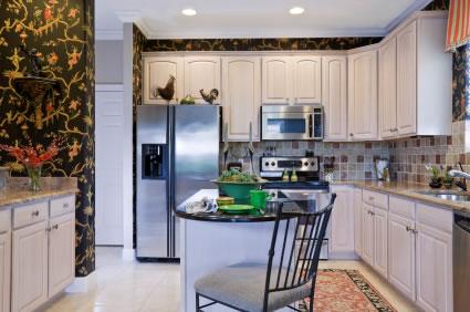 Papel pintado en la cocina - Papel vinilico para cocinas ...