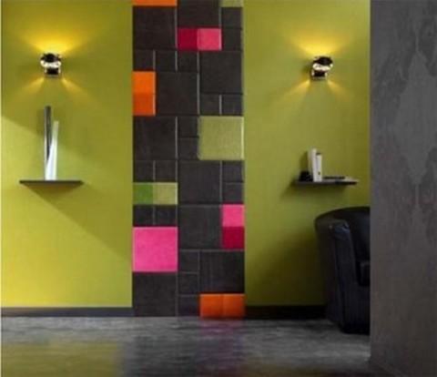 Pinta y dibuja las paredes - Como pintar una pared con textura ...