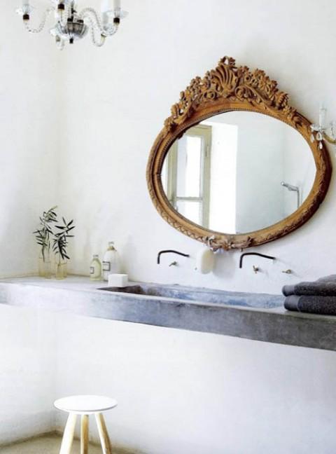 Estilo vintage en el baño06