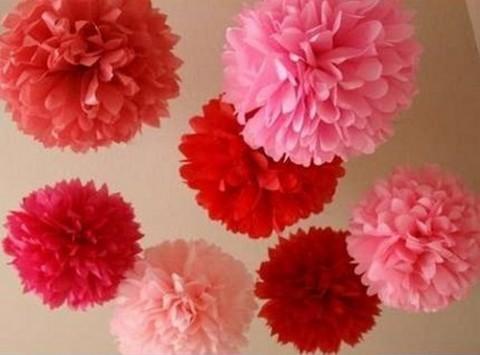 Decora san valent n con globos y guirnaldas - Como hacer adornos de san valentin ...