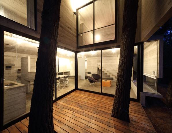 Casa de playa en el bosque 4