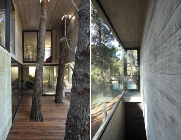 Casa de playa en el bosque 9