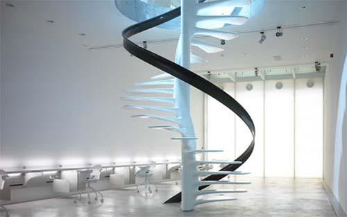 escaleras de diseo nico 01 - Diseo De Escaleras