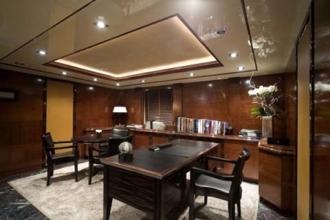 Decoración de interior de un yate de lujo 6