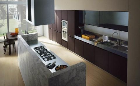 Cocinas con granito y m rmol for Cocinas con marmol y granito