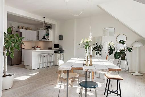 Cocinas abiertas al living - Cocinas abiertas rusticas ...