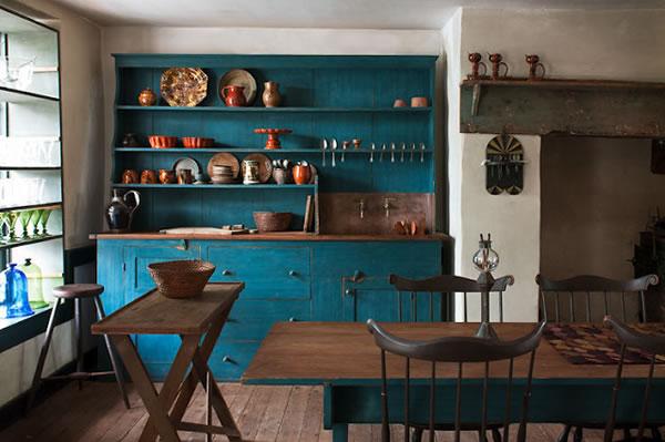 Las cocinas de estilo r stico for Programa amueblar cocina