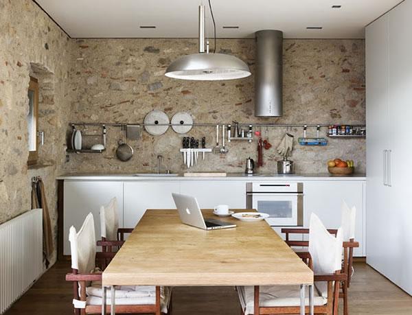 Las cocinas de estilo r stico for Disenos de cocinas campestres