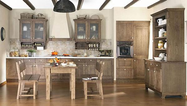 Las cocinas de estilo r stico - Decoracion rustica barata ...