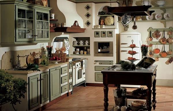 Las cocinas de estilo r stico for Progettare gli interni di casa